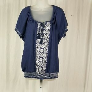 Tops - French Laundry Blouse Size 2X
